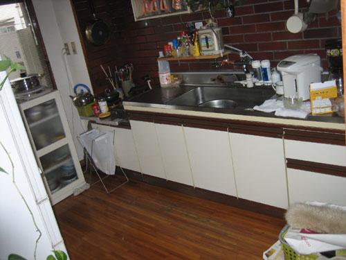リフォーム前 キッチン