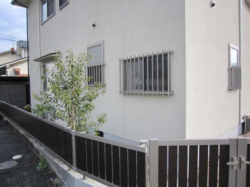 戸建/フェンス工事1