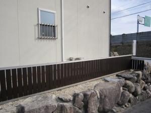 フェンス工事1施工後2
