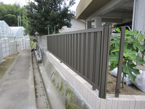 戸建/フェンス工事2