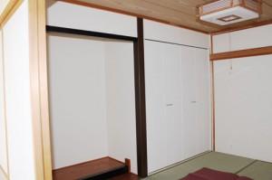 戸建てリフォーム 和室施工後2