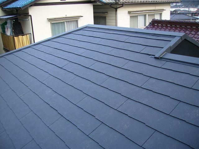 屋根の葺き替え施工後